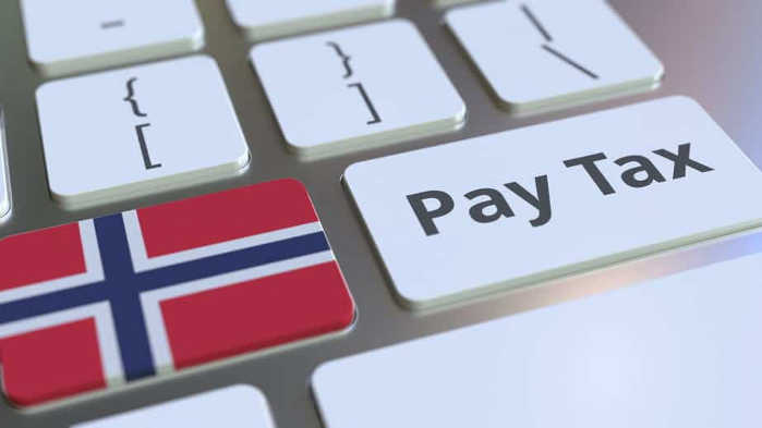 Korekta podatku w Norwegii.