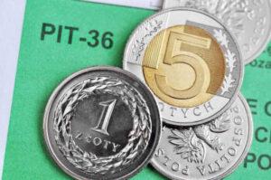 Zeznanie podatkowe PIT 36 z załącznikiem ZG.